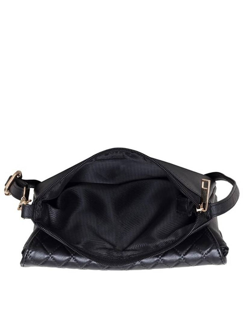 Elegant Handbag with sling For Women (Black)