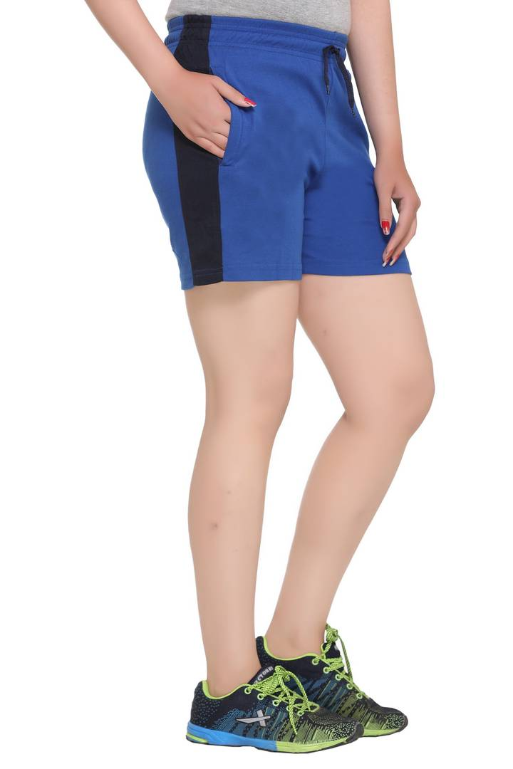 Women's Cotton Blend Shorts