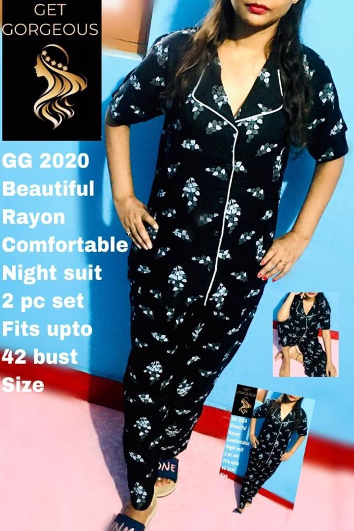 NIGHTSUIT SUPERSOFT RAYON FABRIC