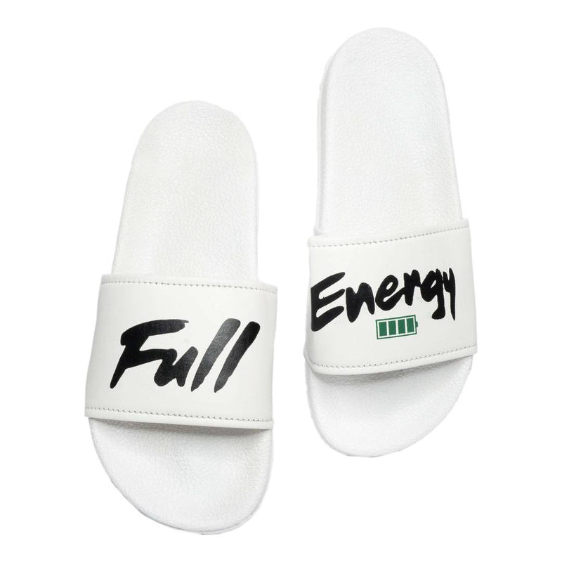 Men's Stylish White Flip Flops