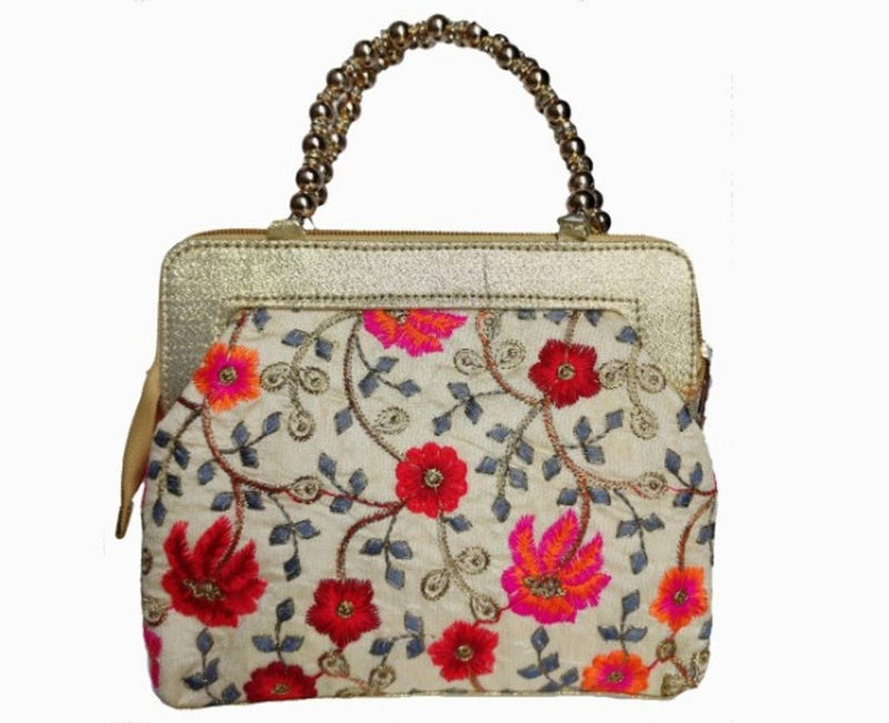 Classy Beige and Beautiful Handbags for parties,  functions and for casual uses