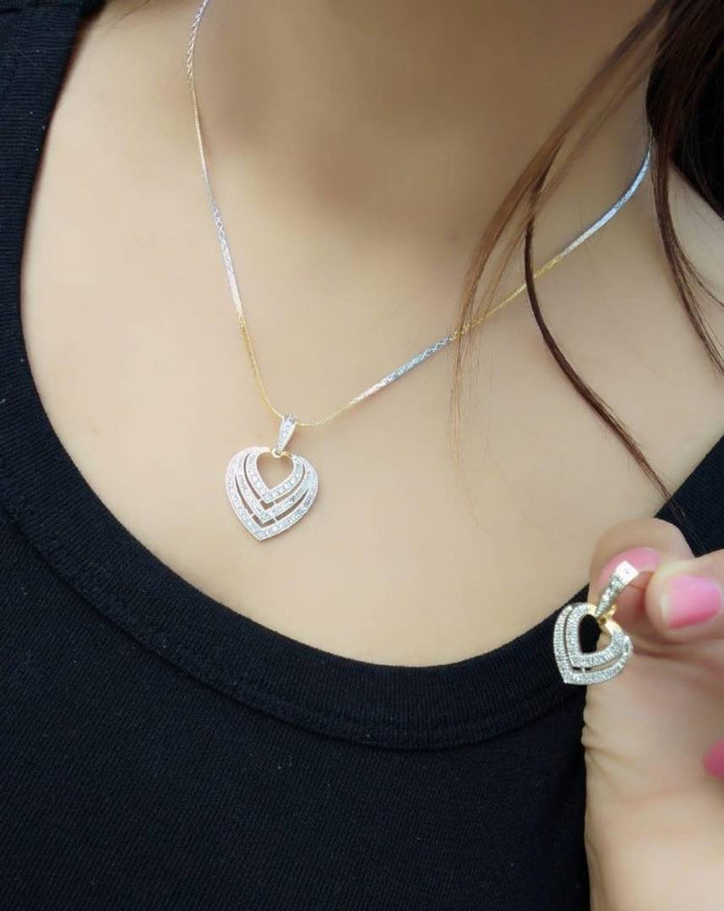 Alloy beautiful pendant set  for girls and woman