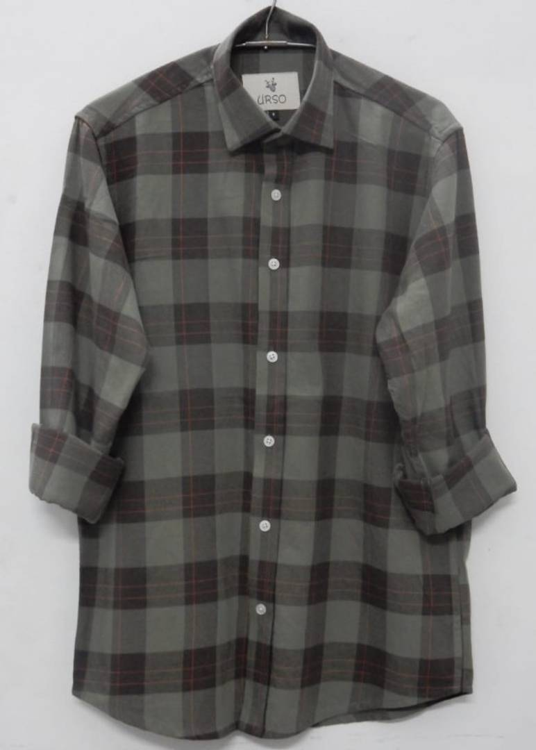 Fashionable Cotton Checked Casual Shirt For Men