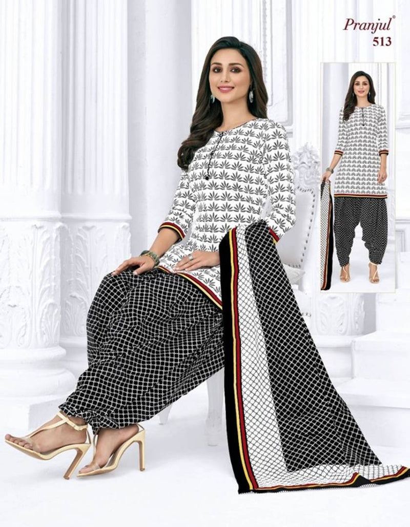 Women's Heavy Cotton Printed Dress Material with Dupatta
