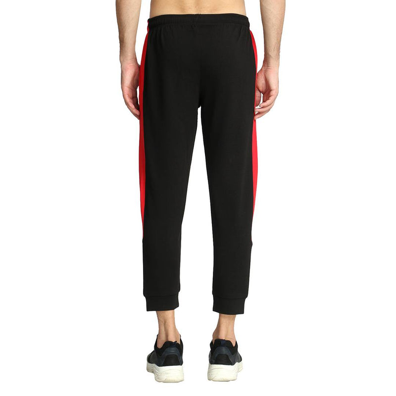 Stylish Multicoloured Polyester Lycra Cuffed Sports Track Pant For Men