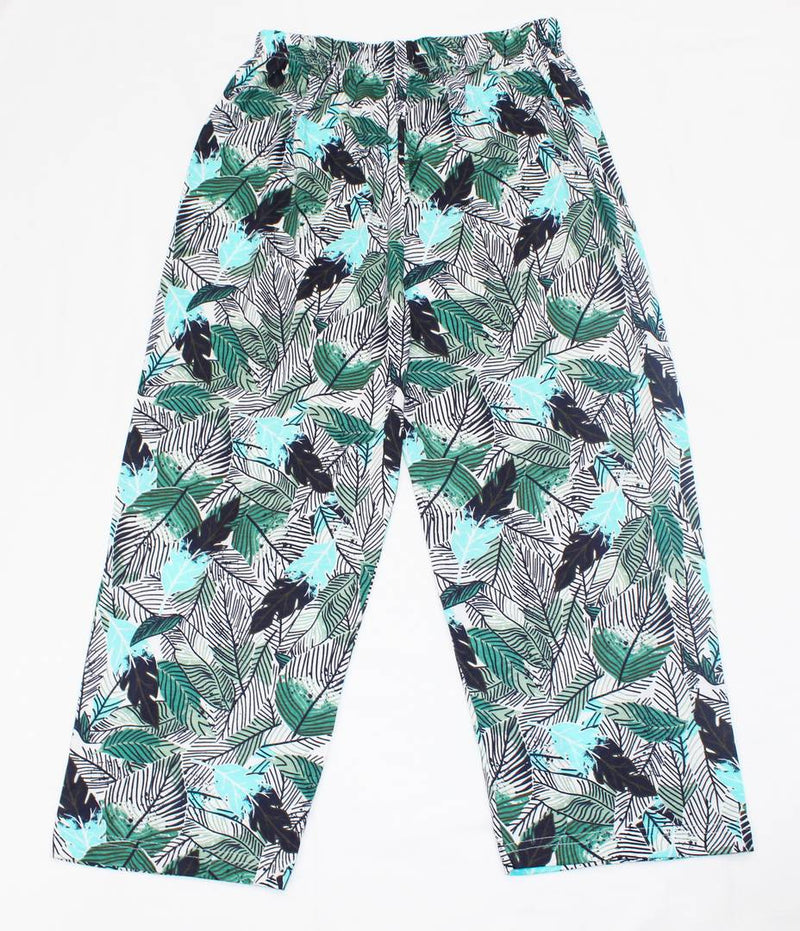 Stylish Cotton Multicoloured Printed Capri For Women