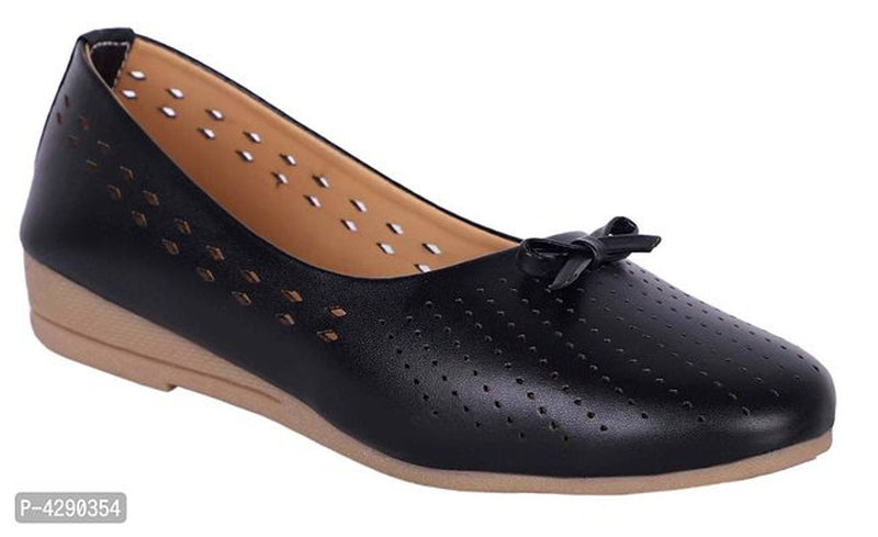Women's Stylish Black Synthetic Bellies