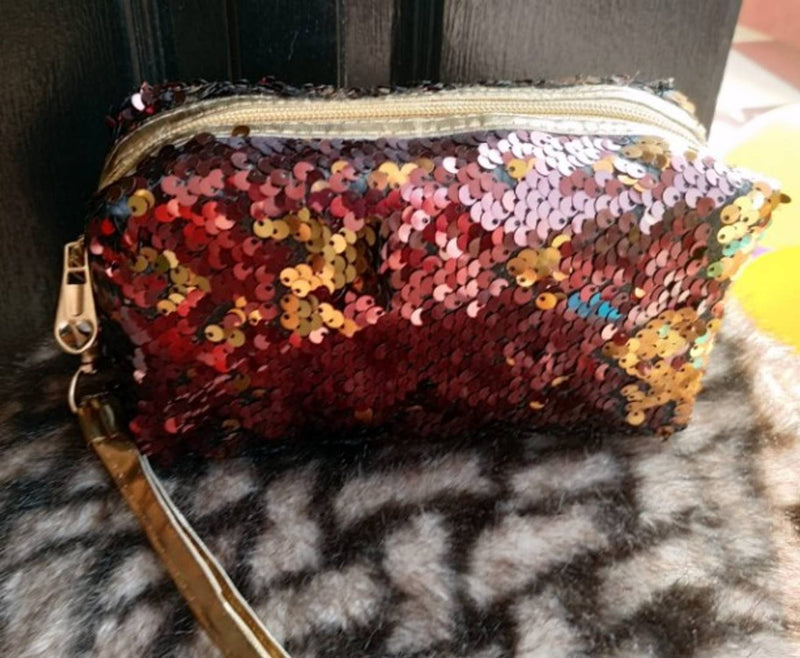 Stylish Sparkle Shining Makeup Pouch