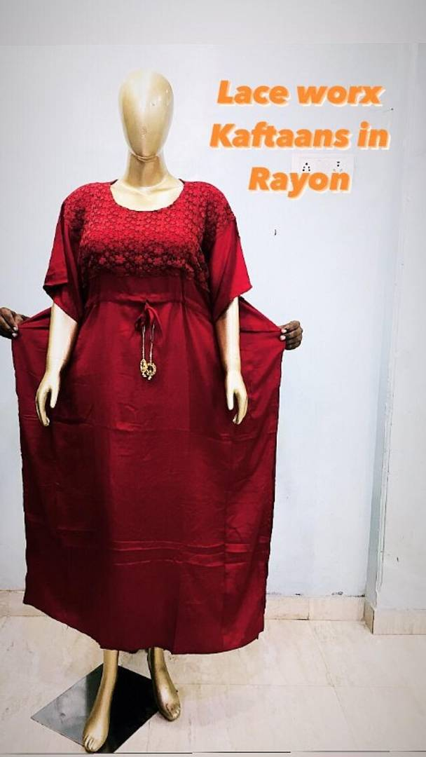 New Launched Kaftan Night Gown