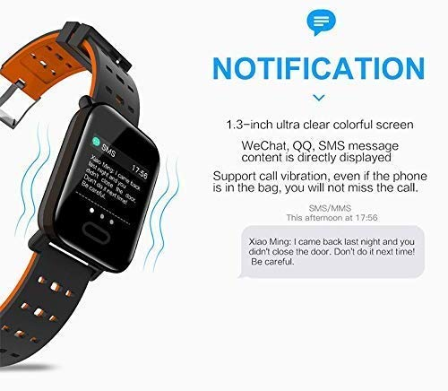 A6 Wireless Bluetooth Smart Watch for Android & iOS