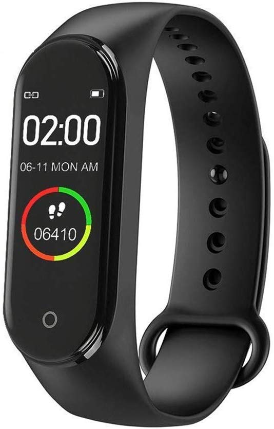 M4 Bluetooth Wireless Smart Fitness Band For Samsung, Redmi, Xiaomi, One Plus Phones