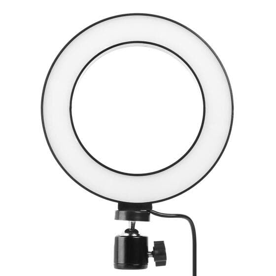 LED Selfie Ring Light 10-Inch (No Stand)