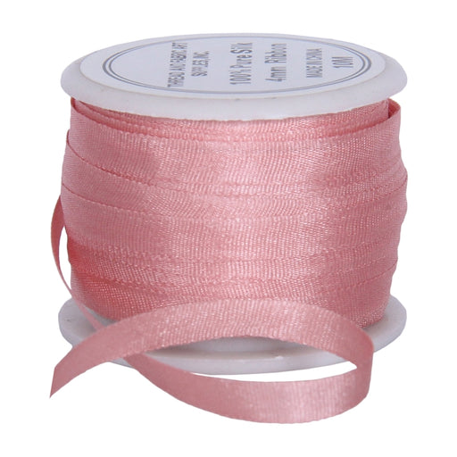 Silk Ribbon 4mm Pale Pink x 10 Meters - No. 540 - Threadart.com