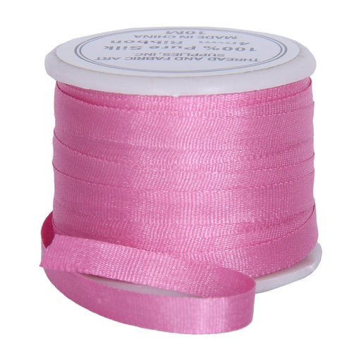 Silk Ribbon 4mm Dusty Rose x10 Meters No. 565 - Threadart.com