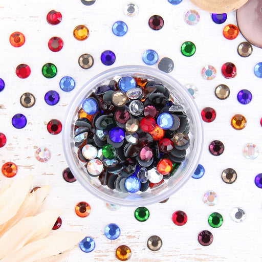 Hot Fix Rhinestones - SS30 - Mixed - 144 stones - Threadart.com