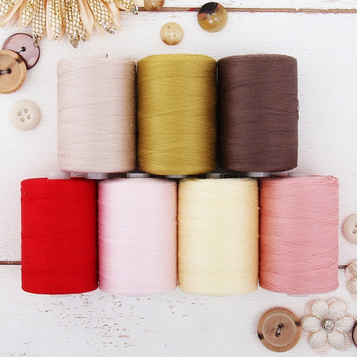 Cotton Quilting Thread Set - 7 Garden Tones - 1000 Meters - Threadart.com