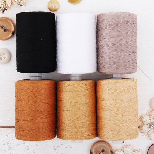 Cotton Quilting Thread Set - 6 Quilting Tones - 1000 Meters - Threadart.com