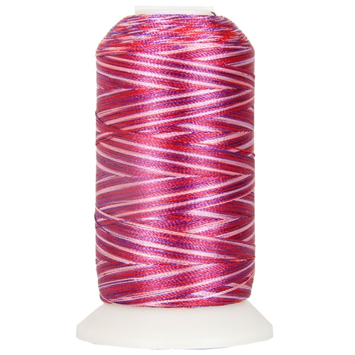Multicolor Polyester Embroidery Thread No. 22 - Variegated Berries - Threadart.com