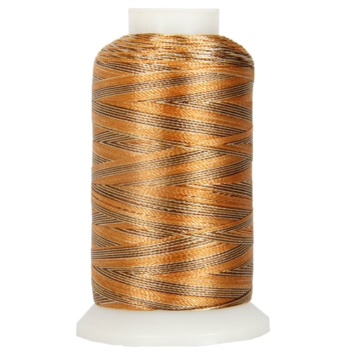 Multicolor Polyester Embroidery Thread No. 8 - Variegated Sands - Threadart.com
