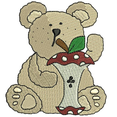 Machine Embroidery Designs -  Bears(2) - Threadart.com