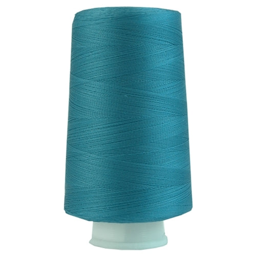 Heavy Duty Quilting Cotton Thread - Teal Blue - 2500 Meters - 40 Wt. - Threadart.com