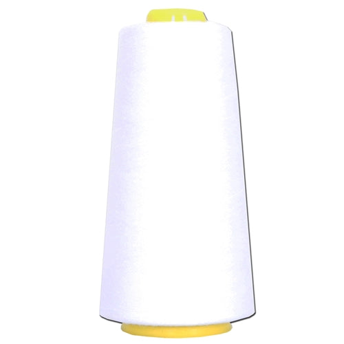 Polyester Serger Thread - White 101 - 2750 Yards - Threadart.com