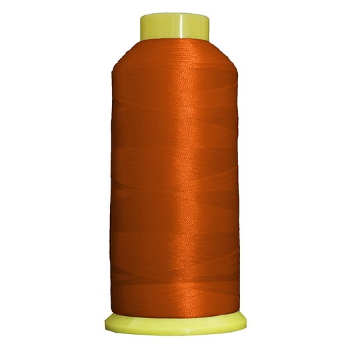 Large Polyester Embroidery Thread No. 112 - Texas Orange - 5000 M - Threadart.com