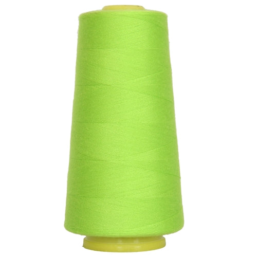 Polyester Serger Thread - Lime Green 675 - 2750 Yards - Threadart.com