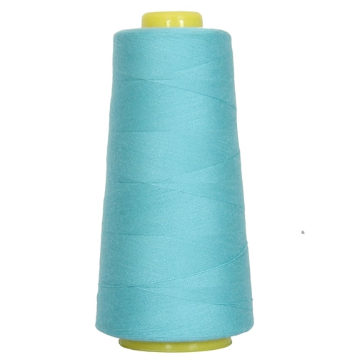 Polyester Serger Thread - Turquoise 464 - 2750 Yards - Threadart.com