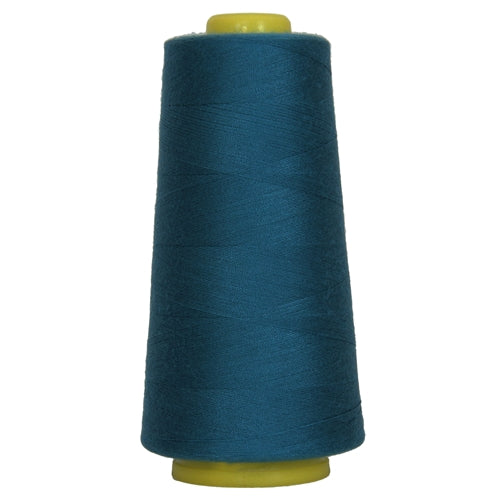 Polyester Serger Thread - Dk Turquoise 470 - 2750 Yards - Threadart.com