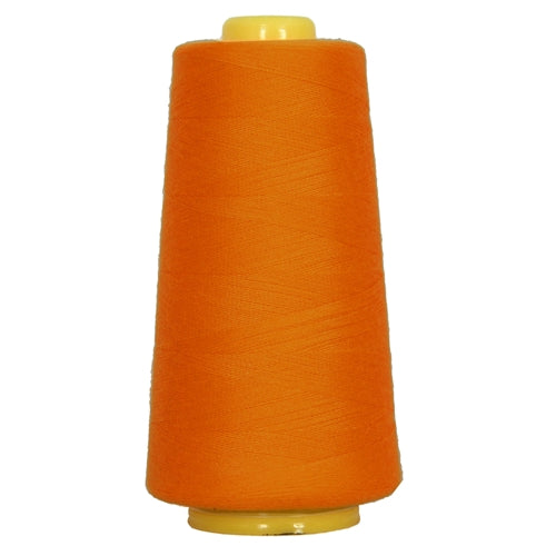 Polyester Serger Thread - Orange Yellow 478 - 2750 Yards - Threadart.com