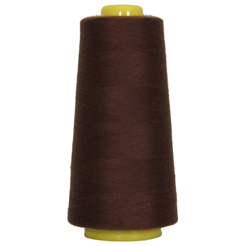Polyester Serger Thread - Chocolate 405 - 2750 Yards - Threadart.com