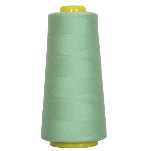 Polyester Serger Thread - Mint Green 370 - 2750 Yards - Threadart.com