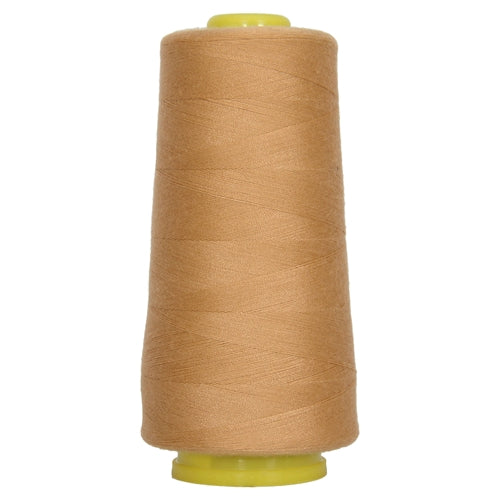 Polyester Serger Thread - Lt Tan 306 - 2750 Yards - Threadart.com