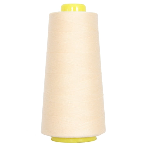 Polyester Serger Thread - Natural 104 - 2750 Yards - Threadart.com