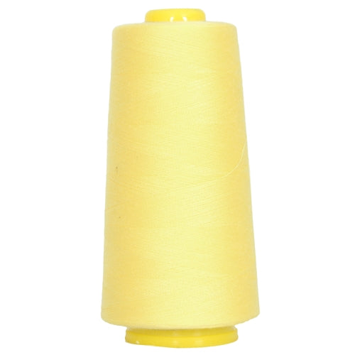 Polyester Serger Thread - Lemon 152 - 2750 Yards - Threadart.com