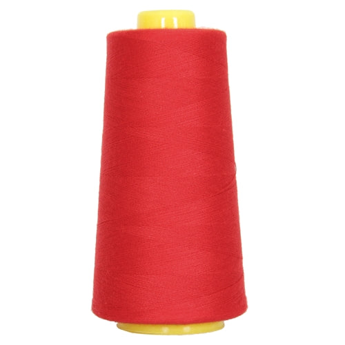 Polyester Serger Thread - Christmas Red 148 - 2750 Yards - Threadart.com