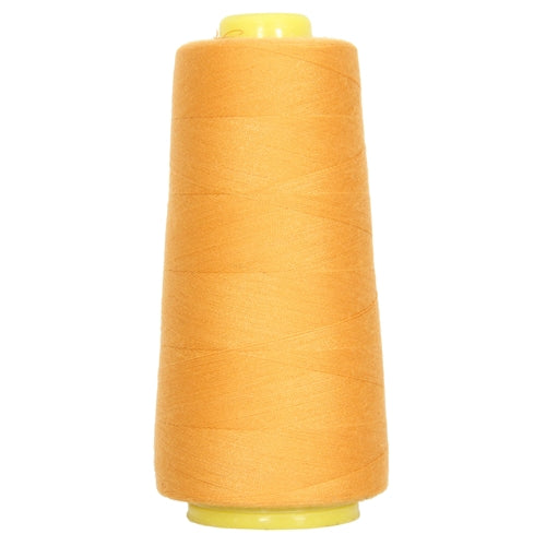 Polyester Serger Thread - Old Gold 124 - 2750 Yards - Threadart.com