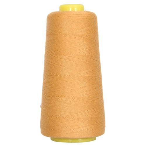 Polyester Serger Thread - Lt Gold 121 - 2750 Yards - Threadart.com