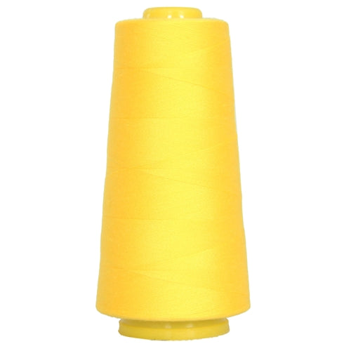 Polyester Serger Thread - Yellow 154 - 2750 Yards - Threadart.com