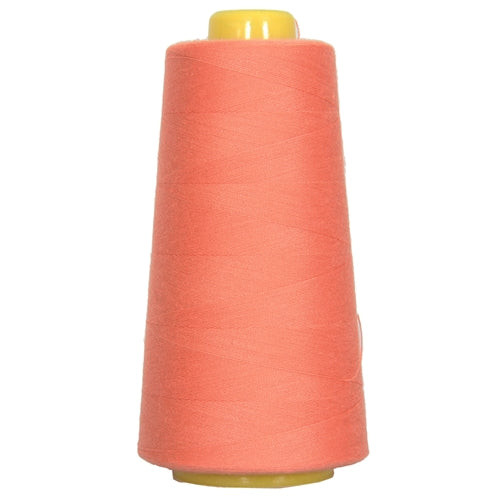 Polyester Serger Thread - Portland Orange 168 - 2750 Yards - Threadart.com