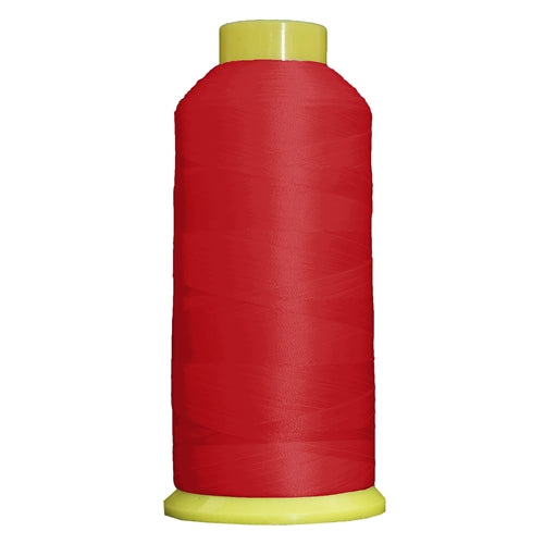 Large Polyester Embroidery Thread No. 148 - Christmas Red - 5000 M - Threadart.com