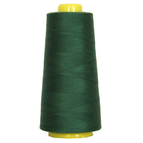 Polyester Serger Thread - Pine Green 225 - 2750 Yards - Threadart.com