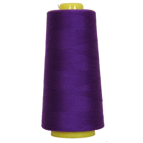 Polyester Serger Thread - Deep Purple 272 - 2750 Yards - Threadart.com