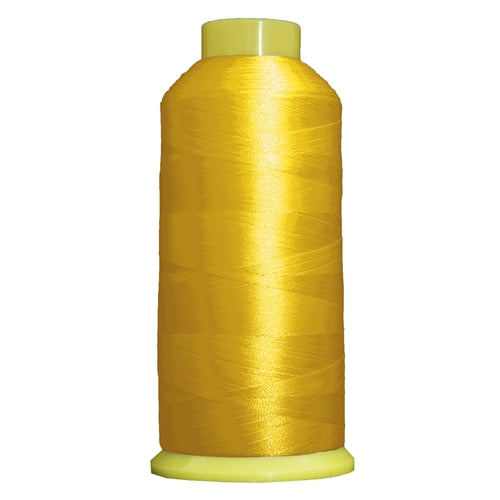 Large Polyester Embroidery Thread No. 154 - Yellow - 5000 M - Threadart.com