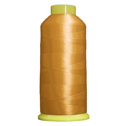 Large Polyester Embroidery Thread No. 156 - Pollen Gold - 5000 M - Threadart.com