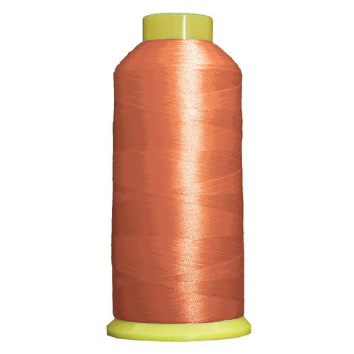 Large Polyester Embroidery Thread No. 168 - Portland Orange - 5000 M - Threadart.com