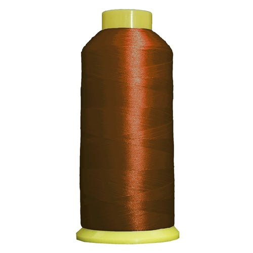 Large Polyester Embroidery Thread No. 171 -Terra Cotta - 5000 M - Threadart.com