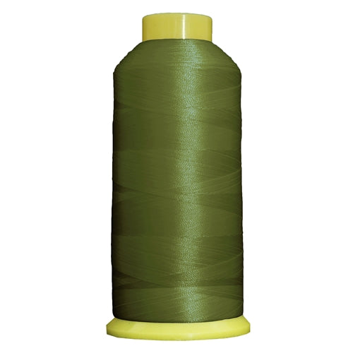 Large Polyester Embroidery Thread No. 222 - Avocado - 5000 M - Threadart.com