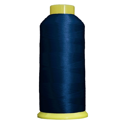 Large Polyester Embroidery Thread No. 232 - Blue Ribbon- 5000 M - Threadart.com